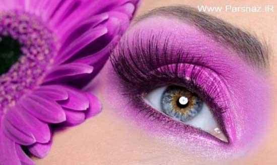 چند روش مهم برای آرایش چشم ها