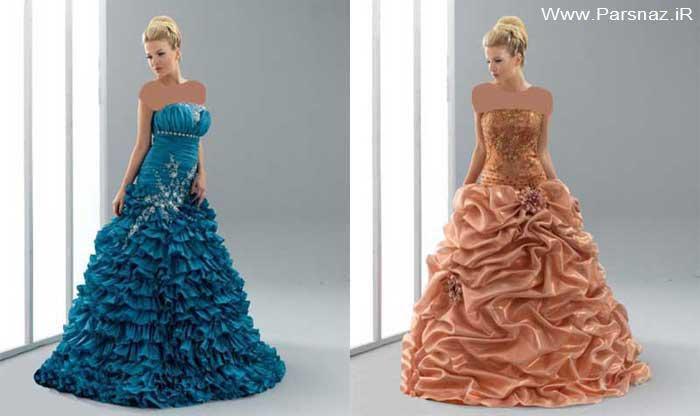 عکس هایی از جدیدترین مدل لباس نامزدی