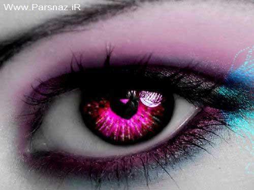 عکس های بسیار دیدنی از چشمان زیبا با لنز