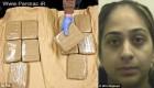 حمل بزرگترین قاچاق در پاکستان توسط یک زن جوان + عکس