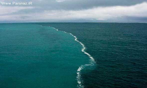 www.parsnaz.ir - این همان دریای عجیبی در دنیا است که در قرآن آمده +عکس