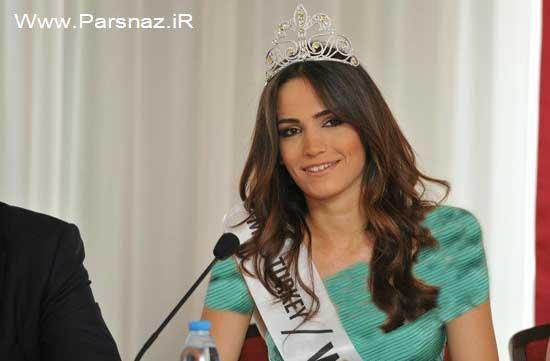 انتخاب عجیب زیباترین دختر ترکیه در سال 2012 + تصاویر