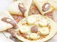 طرز درست کردن نان شكلاتی و موز