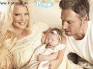 جسیکا عکس نوزادش را به قیمت 800000 دلار فروخت +عکس