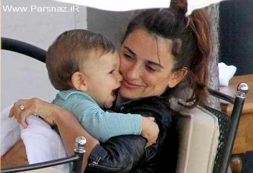 بازیگر معروف درباره پسرش چیزی به مطبوعات نمیگوید +عکس