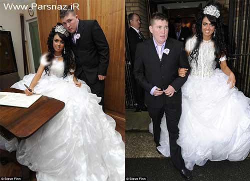 مجلل عروس خانم 16 ساله در انگلستان + تصاویر