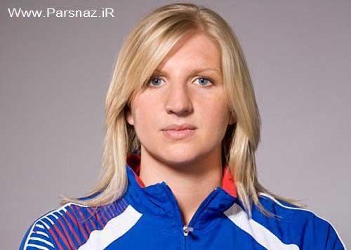 این زن شناگر تیم ملی بانوان انگلیس از دریا می ترسد +عکس