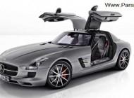 رونمایی از مرسدس بنز مدل 2013 SLS AMG GT + عکس