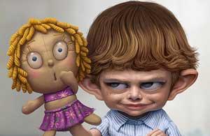 www.parsnaz.ir - اگر پسری بر ضد دخترها حرفی زد بدونید (طنز)