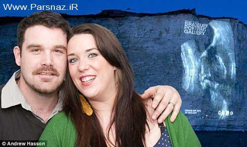 کار جالب و عجیب یک زوج جوان پس از بارداری + عکس