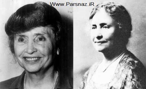www.parsnaz.ir - داستان بسیار زیبای عشق پنهانی هلن کلر در زندگی + عکس