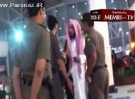غوغایی که درگیری یک زن عرب با ماموران امنیتی برپا کرد
