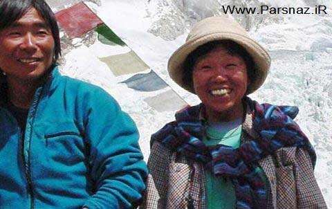 فتح بسیار عجیب اورست توسط این زن 73 ساله + عکس