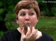 اعتیاد عجیب این زن آمریکایی به خوردن سنگ + عکس