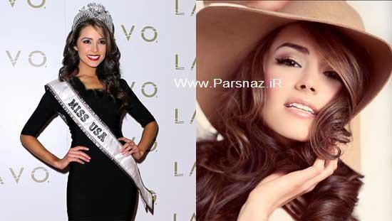 www.parsnaz.ir - عکس هایی از مراسم تاج گذاری زیباترین دختر آمریکا