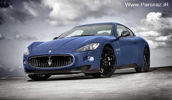 عکس هایی از ارایه مدل منحصر به فرد اتومبیل مازراتی 2012