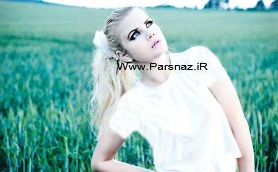 این دختر زیبای 22 ساله بسیار خوش شانش است اما +عکس