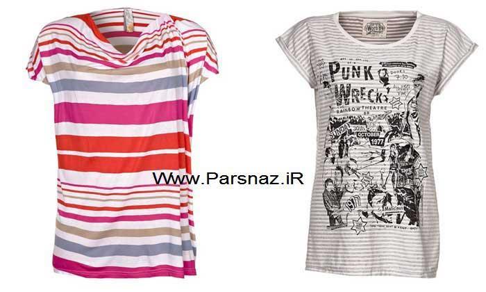 عکس هایی از طرح های جدید تی شرت دخترانه