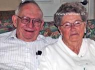ازدواج جالب 2 همکلاسی عاشق بعد از 60 سال + عکس