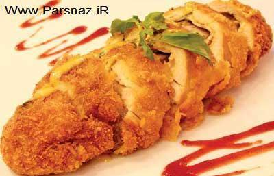 طرز درست کردن سینه مرغ سوخاری تراوا
