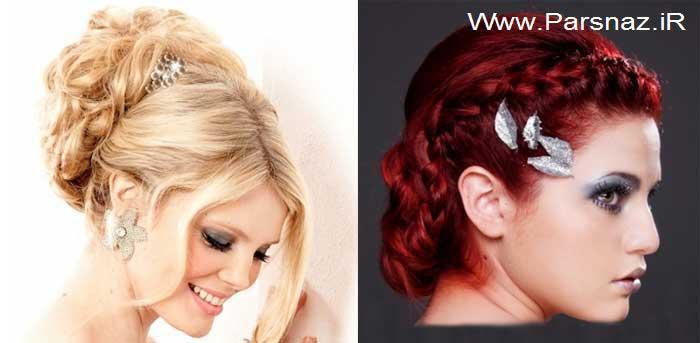 دانلود عکس ها و تصاویر مدل مو جدید دخترانه و زنانه سال