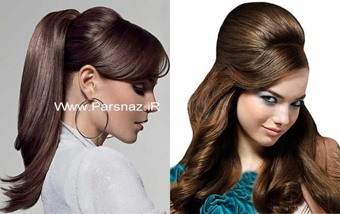 عکس مدل مو جدید دخترانه