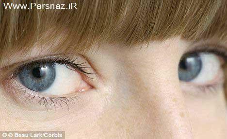 این خانم عجیب قدرت بینایی اش فوق بشری است + عکس