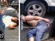 حمله یک مرد آدم خوار چینی به زن بی دفاع در خیابان +عکس