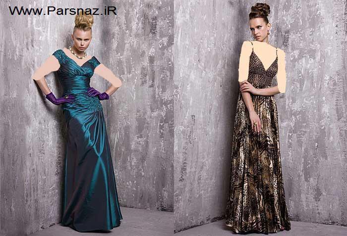 عکس هایی از جدیدترین مدل لباس های شب