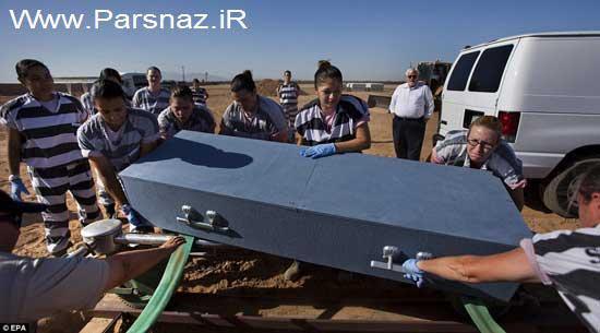 عکس هایی از شکنجه بسیار سخت برای زندانیان زن در آریزونا
