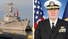 تجاوز فرمانده نیروی دریایی آمریکا به دو زن در ناوشکن + عکس