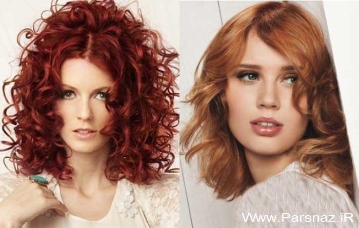 عکس هایی از مجموعه جدیدترین مدل موهای زنانه