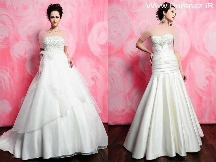 www.parsnaz.ir -  عکس هایی از جدیدترین مجموعه لباس های عروس