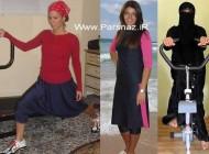 مشکلات ورزش کردن زنان مذهبی در کشورهای غربی +عکس