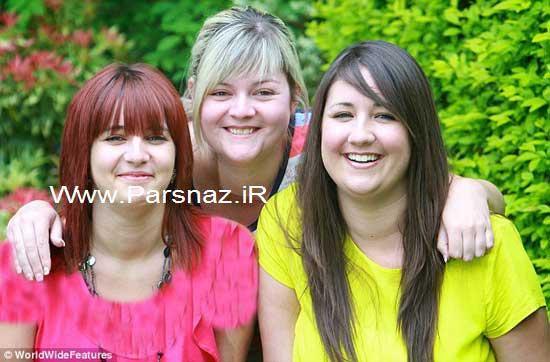 بیماری عجیب 3 خواهری که به زودی نابینا می شوند + عکس