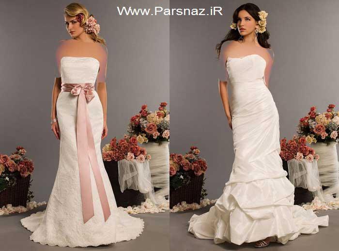 عکس هایی از مدل لباس های شیک عروس