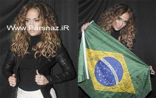 جنیفر لوپز و کنسرت جدیدش در برزیل + عکس