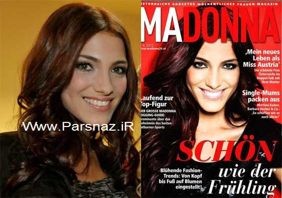عکس هایی از زیباترین دختر شایسته اتریش در سال 2012