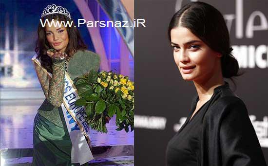 عکس های شرمینه تهرانی زیباترین دختر اروپا در سال 2005