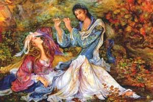 www.parsnaz.ir - داستان جالب لیلی و مجنون به صورت خلاصه