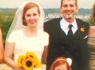 هدیه بسیار خوب این عروس عاشق به همسرش + عکس