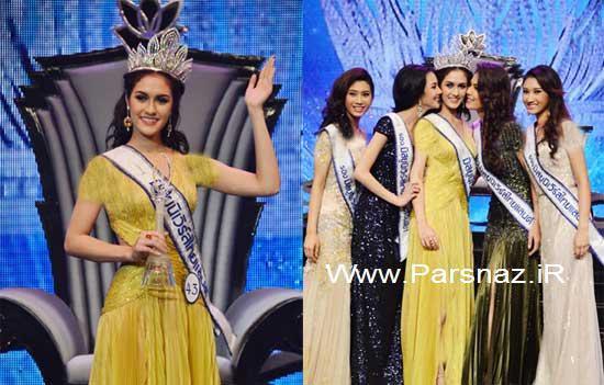 عکس هایی از انتخاب دختر شایسته تایلند در سال 2012