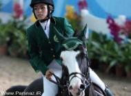 حضور اولین زن عرب در مسابقات المپیک 2012 + عکس