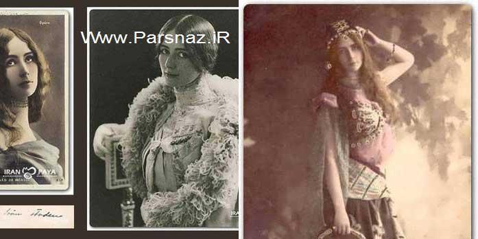 اولین ملکه زیبایی ایران و جهان در سال 1896 + عکس