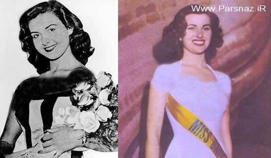 انتخاب زیباترین زن دنیا در 70 سال قبل + عکس