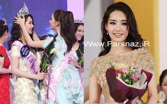 عکسهایی از زیباترین دختر شایسته کره جنوبی در سال 2012