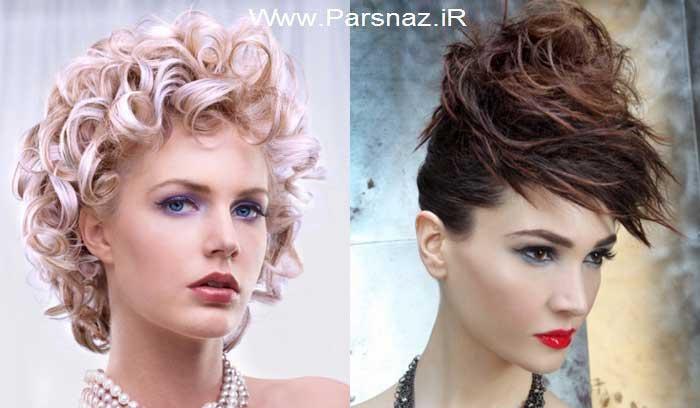 مجموعه جدید از مدل موهای دخترانه
