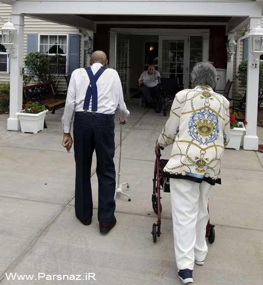 ازدواج دوباره این زوج عاشق بعد از 50 سال جدایی + عکس