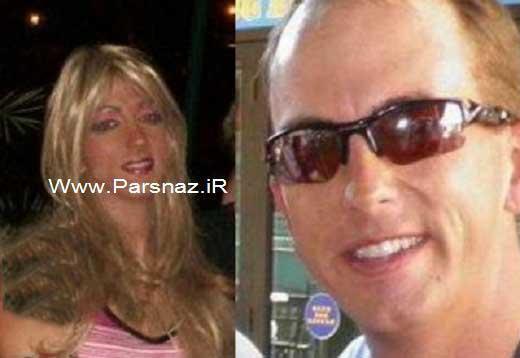 مردی عجیب که با خوردن قرص به یک خانم تبدیل شد +عکس