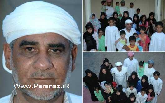 www.parsnaz.ir - این مرد عرب تا سال 2015 صد فرزند خواهد داشت + عکس